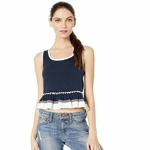 Juicy Couture Tops - Juicy Couture Ruffle Hem Sweater